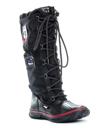 Black Grip Boot
