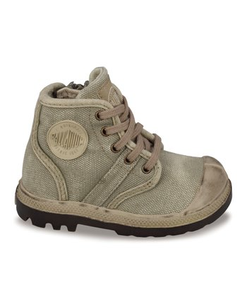Dark Khaki & Putty Pallabrouse Boot