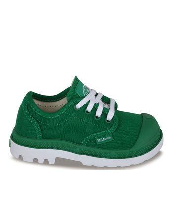 Green & White Pampa Blanc Oxford Sneaker