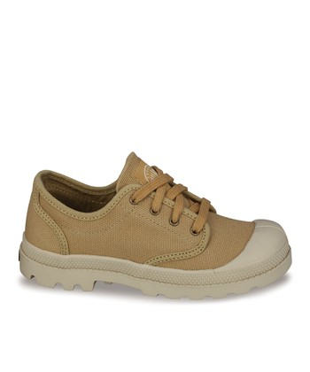Mustard Pampa Lace-Up Sneaker
