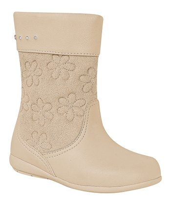 Pampili Beige Flower Boot