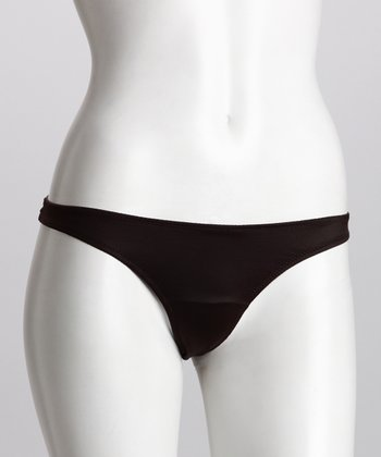 Chocolate Porcelain Thong