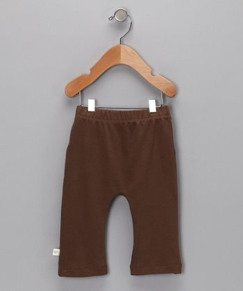 Brown Organic Pants - Infant