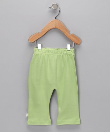 Green Organic Pants - Infant