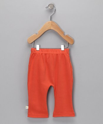 Orange Organic Pants - Infant