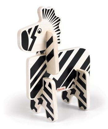 Zebra Jungle Pals Stacking Puzzle