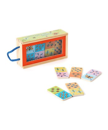 Busy Bug Count & Match Domino Set