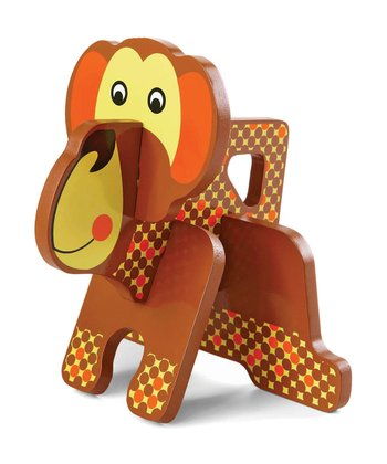 Monkey Jungle Pals Stacking Puzzle