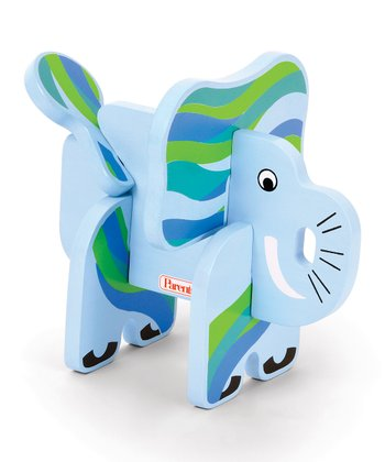 Elephant Jungle Pals Stacking Puzzle
