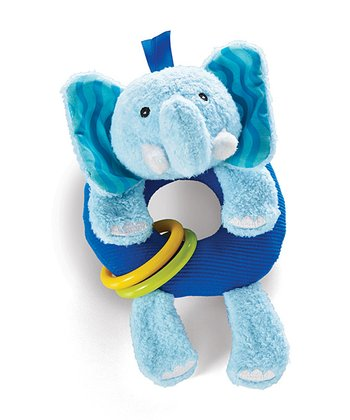 Elephant Rattle Around Plush Toy