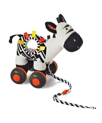 Wobble-Along Zebra Toy