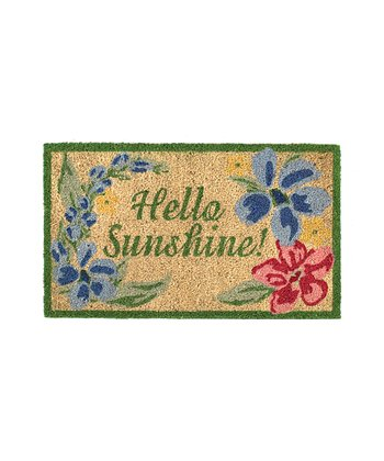 'Hello Sunshine' Doormat