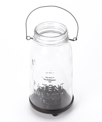Large Mason Jar Tea Light Holder