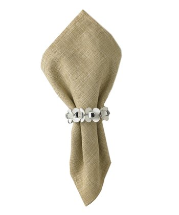 Sunroom Napkin Rings - Set of Four