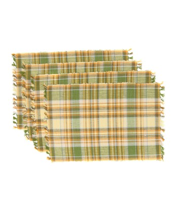 Lemongrass Place Mat - Set of Four