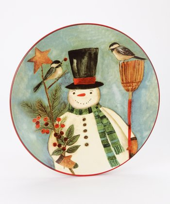 Park Designs Winter Magic Dessert Plate