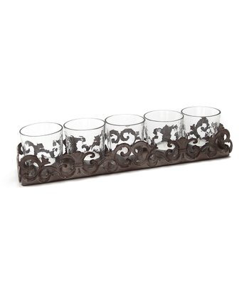 Scrollwork Votive Holder