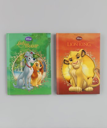 Lady and the Tramp & The Lion King Die-Cut Hardcover Set