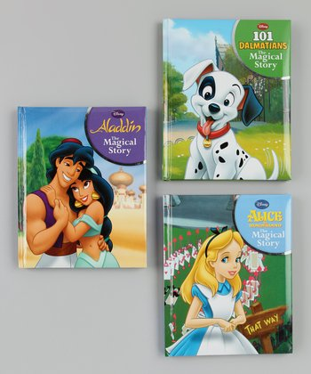 Aladdin, Dalmatians & Alice Padded Hardcover Set