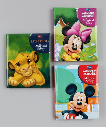 The Lion King, Mickey Mouse & Minnie Mouse Padded Hardcover Set