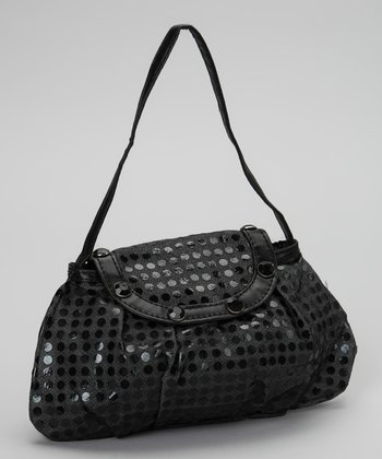 Party Bags Black Sparkle Purse