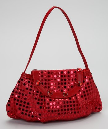 Party Bags Red Sparkle Purse