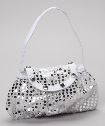 Party Bags Silver Sparkle Purse