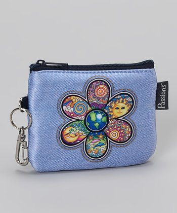 Flower Groovy Coin Purse