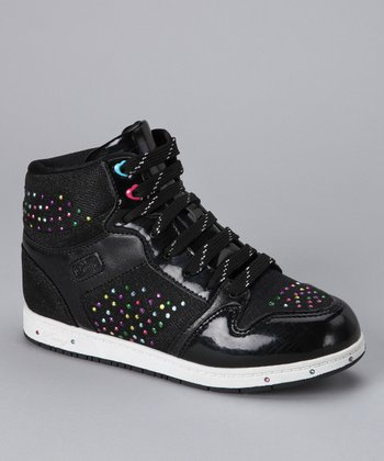 Black Glam Pie Galactica Hi-Top