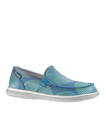 Grecian Blue Naked Maui Slip-On Shoe - Women