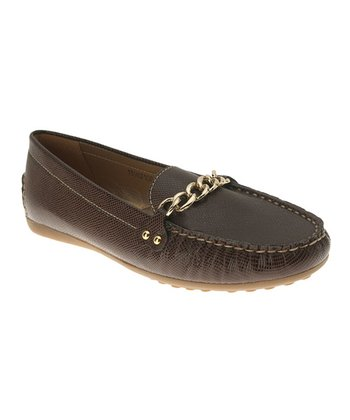 Brown Rayette Loafer