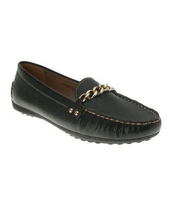 Black Rayette Loafer
