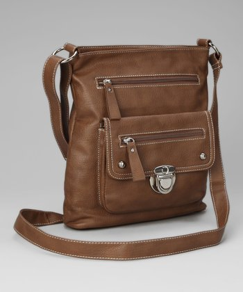 Brown Shirley Crossbody Bag