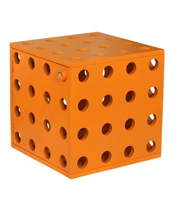 Orange Stackable Cube