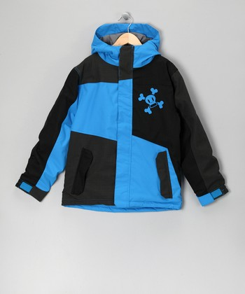 Blue Patch Skull & Crossbones Jacket