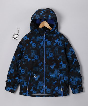Royal Blue Mix Insulated Jacket - Boys