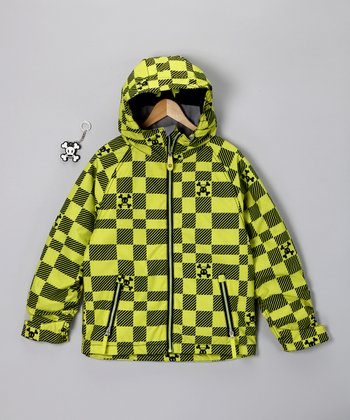 Acid Green Imperial Jacket - Boys