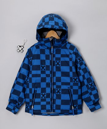 Royal Blue Imperial Jacket - Boys