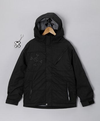 Black Division Insulated Jacket - Boys