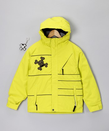 Acid Green Division Insulated Jacket - Boys