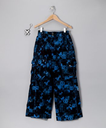Royal Blue Skurvy Fade Insulated Pants