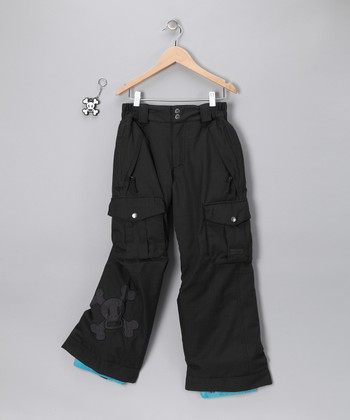 Black Skurvy Insulated Pants