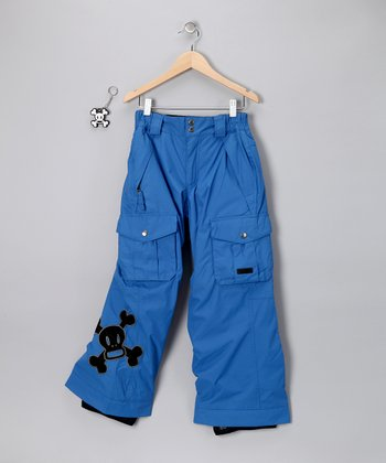 Royal Blue Skurvy Insulated Pants - Boys