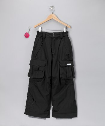 Black Julius Insulated Pants - Girls