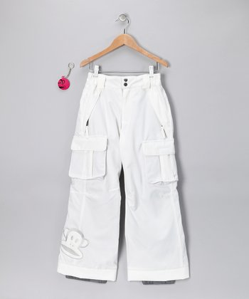 White Julius Insulated Pants - Girls