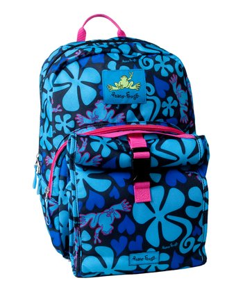 Blue Lava Frog Day Trippin' Backpack & Lunch Box