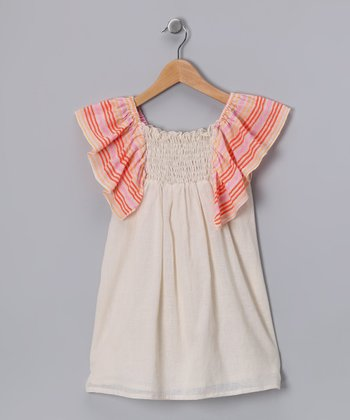 Pink Punch Stripe Dress - Toddler & Girls