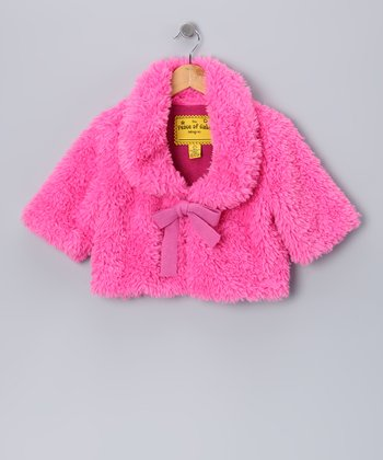 Pink Plush Hour Chubbie Jacket - Toddler & Girls