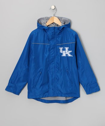 Peak Season Blue Kentucky Wildcats Jacket - Kids
