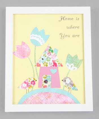 'Home Is Where You Are' Print